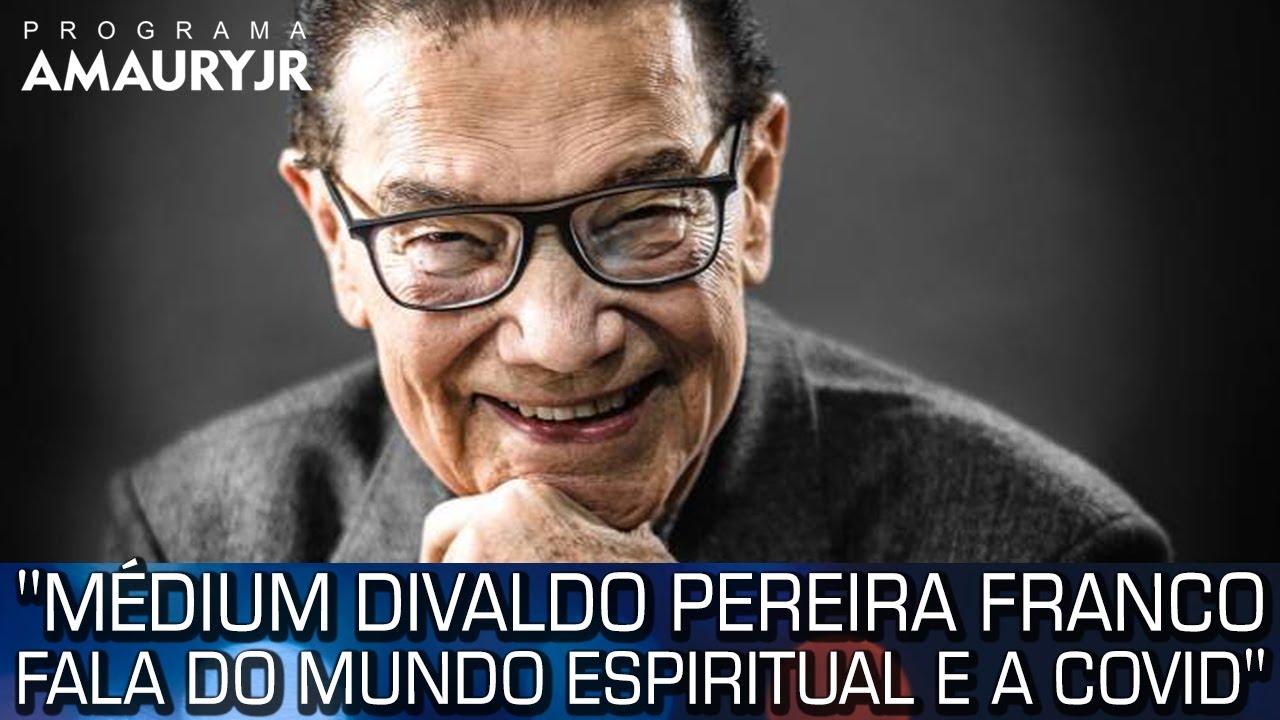 MÉDIUM DIVALDO PEREIRA FRANCO FALA DO MUNDO ESPIRITUAL E A COVID
