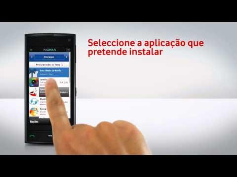 Nokia X6-00 - Instalação de aplicações