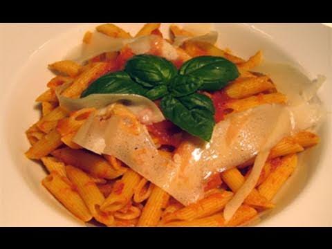 Basic Tomato & Basil Marinara Sauce Recipe - Laura Vitale