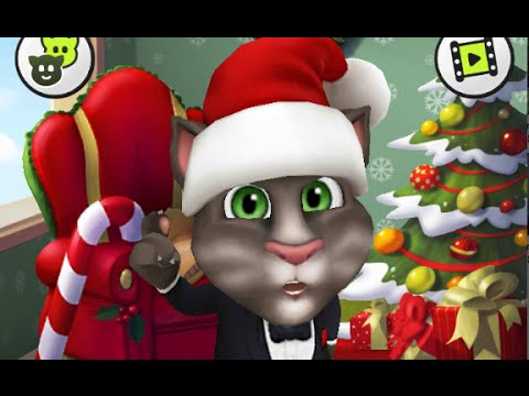 My Talking Tom ~ Christmas Decorations - HD Kids G