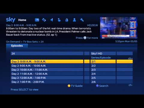 Sky New UI Overview May 2014