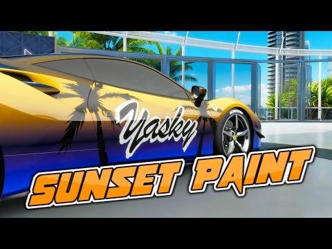Sunset Paint - Forza Horizon 3