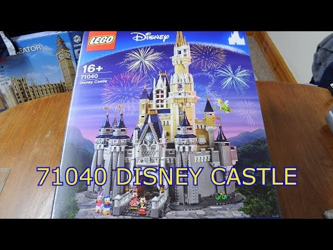 71040 Awesome LEGO Disney Castle Time-lapse build (spot the mistake!)