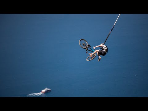 BUNGEE JUMP ON A MOUNTAIN BIKE!?