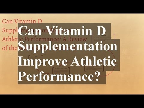 Can Vitamin D Supplementation Improve Athletic Performance? A Review of the Science and Evidence.