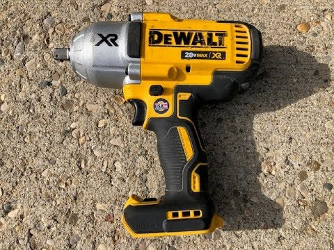 How to Replace the Anvil in a Dewalt DCF899 Impact Wrench