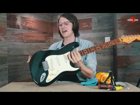 How To Restring A Fender Stratocaster Guitar