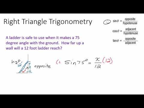 My Latter and Right Triangle Trigonometry