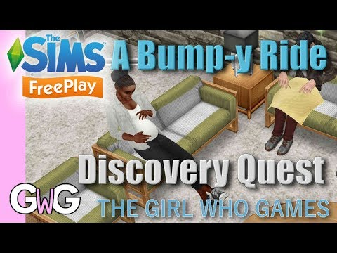 The Sims Freeplay- A Bump-y Ride Quest [& Complete Pregnancy Event!]