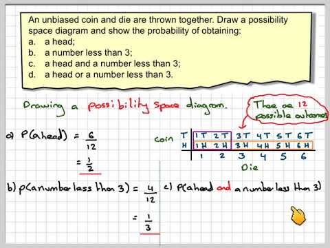 The probability of the combination of two events