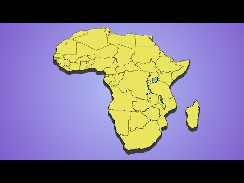 Guess the Country Quiz, Africa.