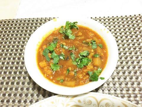 Cauliflower Potato and Peas curry masala