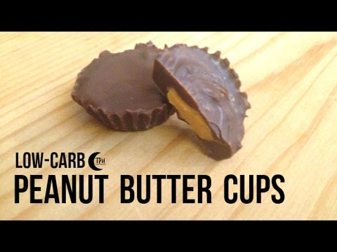 Keto Peanut Butter Cups | Low-Carb Reeses Peanut Butter Chocolates