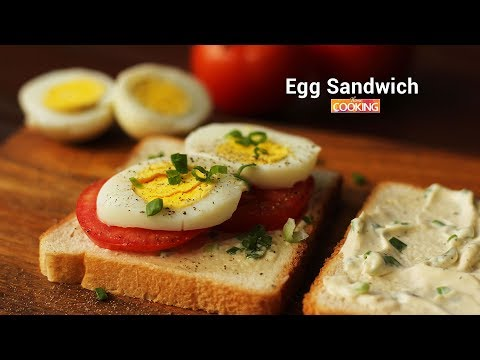 Egg Sandwich | Ventuno Home Cooking
