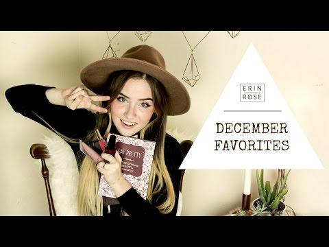 December Favorites | Erin Rose