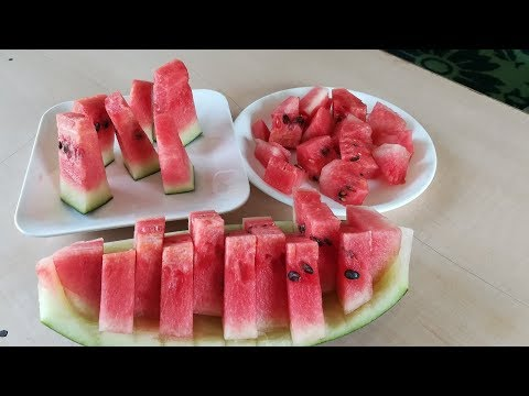 How To Cut Watermelon | How To Cut Watermelon Easy