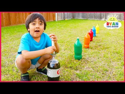 Top 10 Science Experiments you can do at home for kids with Ryan ToysReview!