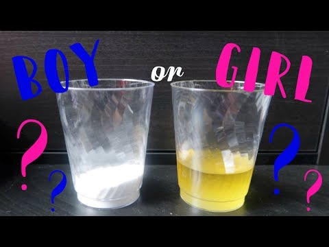 Baking Soda Gender Test! | BOY or GIRL?!?