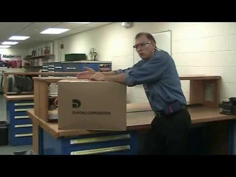 Series 57 DuMore Toolpost Grinder Unpacking & Description of parts.