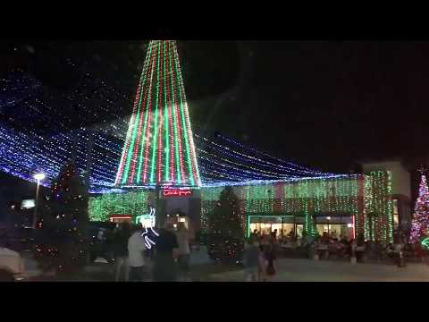1 million Christmas lights at Chick Fil A