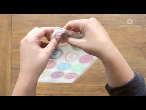 How to use Edible Wafer Cake Toppers - Tutorial