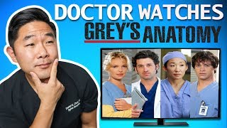 Real Doctor Reacts to GREY'S ANATOMY | Medical Drama Review by SURGEON