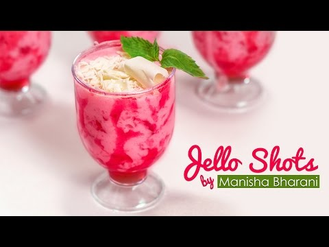 Jello Shots  - Quick & Easy Jello Dessert - Best Party Jelly Pudding Recipe