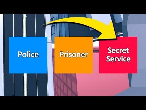 SECRET SERVICE MODE IN ROBLOX JAILBREAK *NO CRIMINALS*