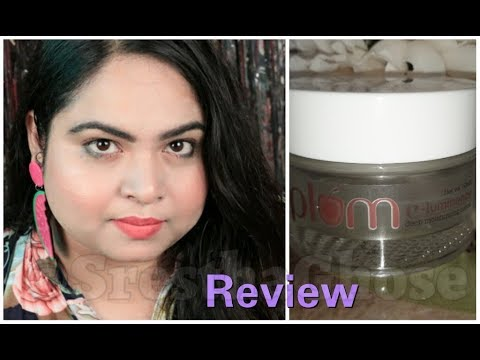 Plum e-luminence Deep Moisturizing Cream Review | Srestha Ghose |