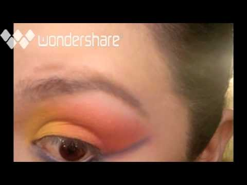 Halloween Make-Up: 80's Girl Look