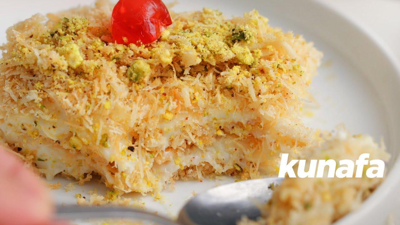 Simple No Bake Delicious Kunafa