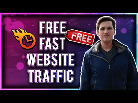The FASTEST Way To Get FREE TRAFFIC To Your Blog / Website