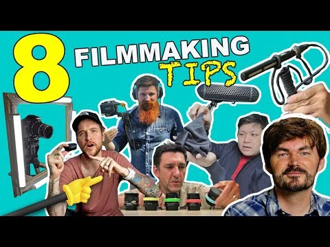 8 GREAT DIY Filmmaking Tips!! - Knoptop