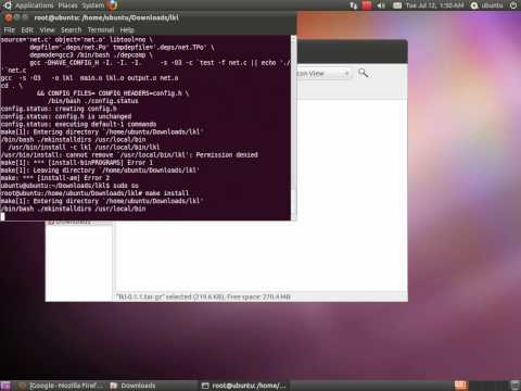 Setting up & running a Linux key logger