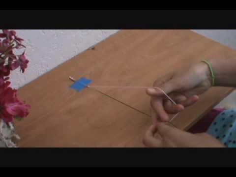 Easy Friendship Bracelet - string