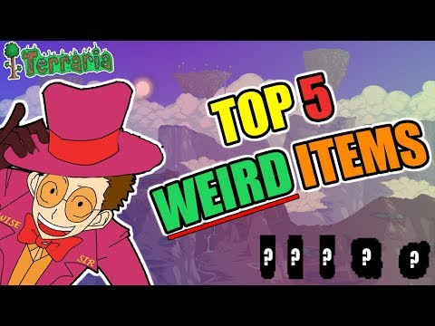WEIRD ITEMS IN TERRARIA!!! (WHY DO THIS EVEN EXIST)