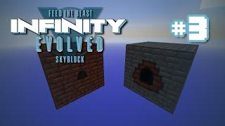 FTB Infinity: Evolved Skyblock - Ep  3 - Bucket, Oh the
