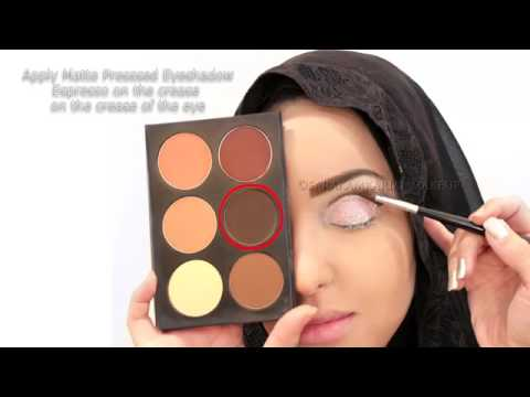 eye makeup arabian style cut crease makeup   2017