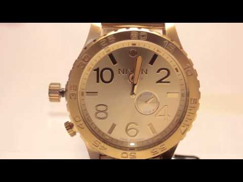 COOLWATCH31 NIXON 51-30 TIDE Series How to set Time