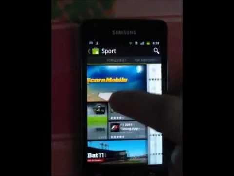 Neuer Android Market - Samsung Galaxy S2