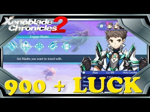 Xenoblade Chronicles 2 - How to Get Higher Luck