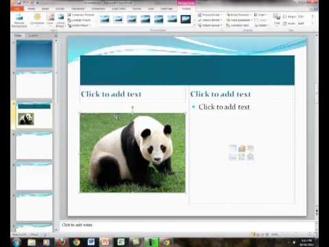 How to Format a PowerPoint Slide