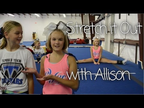 Cheerleading Jump Stretches - Improve your toe touch, pike, & hurdler