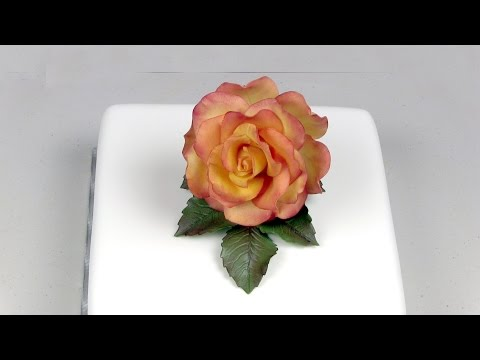 How to Make .: Large Rose using Easy Rose Cutter (JEM)