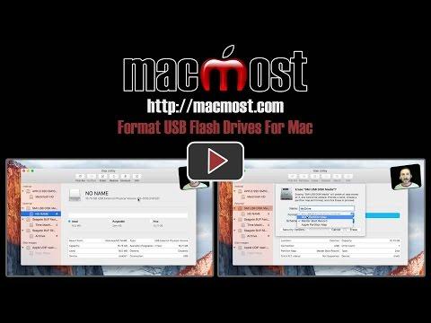 Format USB Flash Drives For Mac (#1279)