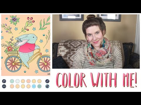 Bunny Riding a Bicycle | Color With Me! Ep. 5