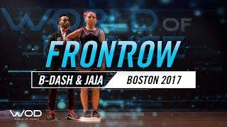 B-Dash & Jaja Vankova | FrontRow | World of Dance Boston 2017 | #WODBOS17