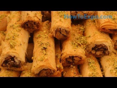 Baklava Fingers Recipe How To Make Baklava Fingers (Easy Dessert)