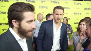 "SXSW 2017: Jake Gyllenhaal and Ryan Reynolds on ""Life"" red carpet"