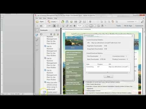 Adobe Acbrobat XI: Create a PDF from Websites